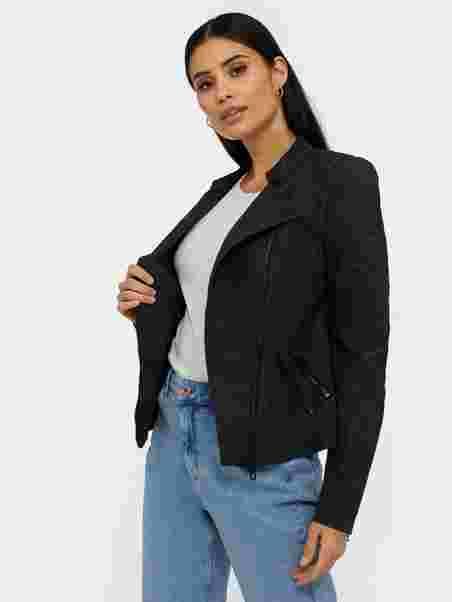 c5485eaa Onlava Faux Leather Biker Otw Noos - Only - Black - Jackets ...