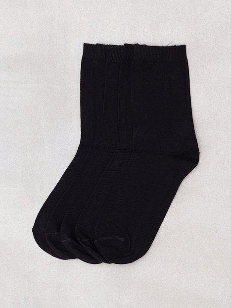 Billede af Pieces Pcemmy 5 Pack Socks Noos Strømper Sort