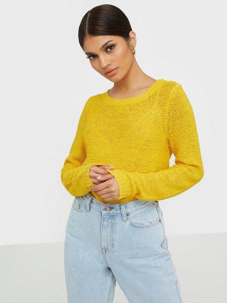 Billede af Only onlGEENA Xo L/S Pullover Knt Noos Strikkede trøjer Gul