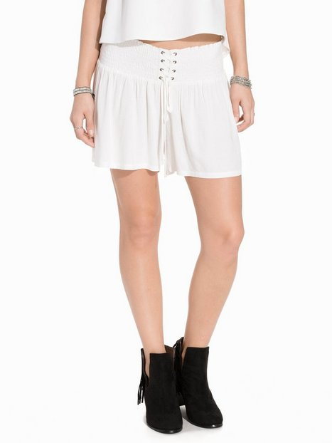 Billede af First And I Fiarden Tie Shorts Shorts Offwhite