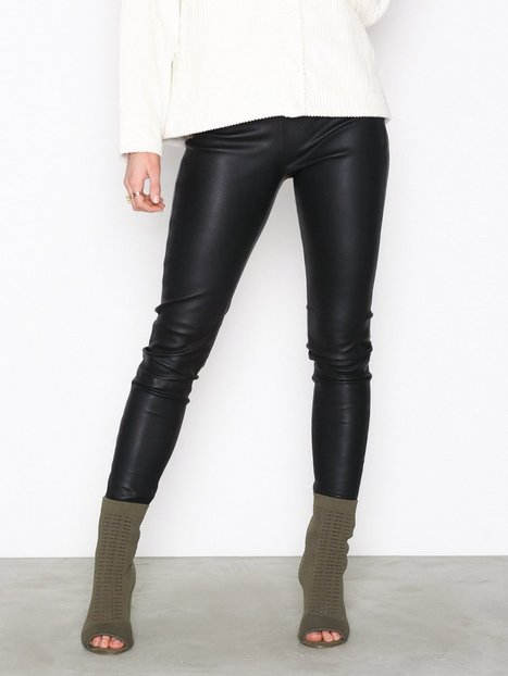 SLFSYLVIA MW STRETCH LEATHER LEGGIN