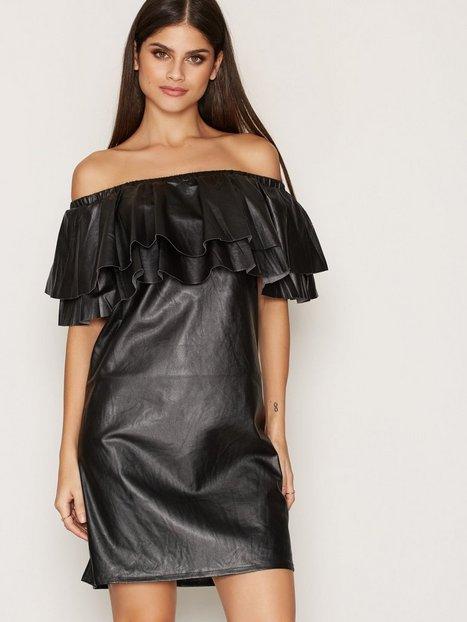 Billede af Vila Fimoon Off Shoulder Dress Loose fit Sort