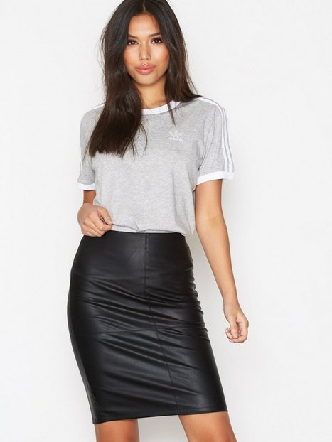 onlTICKET FAUX LEATHER SKIRT OTW NO