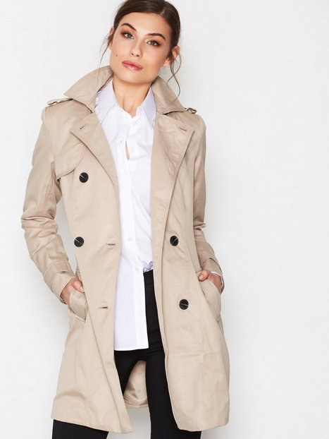 VITHREE LONG TRENCHCOAT-NOOS
