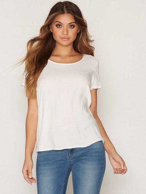 Billede af Only onlFIRST Ss Top Noos Wvn Bluser & skjorter Hvid