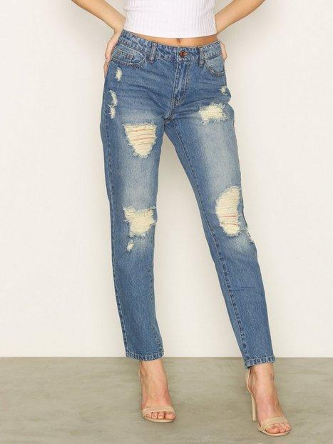 Billede af Jacqueline de Yong Jdyjazz Boyfriend Jeans Dnm RPT1 No Jeans Blå
