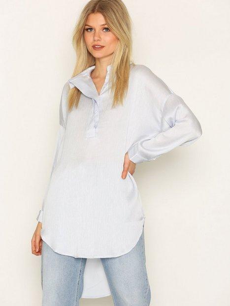 Billede af Selected Femme Sfaugusta 7/8 Shirt Skjorte Blå