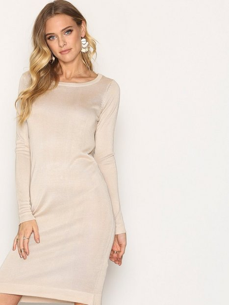 Billede af Vero Moda New Vmtangle Ls Boatneck Dress A Loose fit dresses Cream