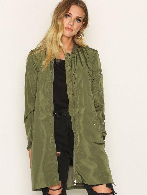 Billede af Vero Moda Vmraven Bay 3/4 Jacket Bomber jakker Mørke Grøn
