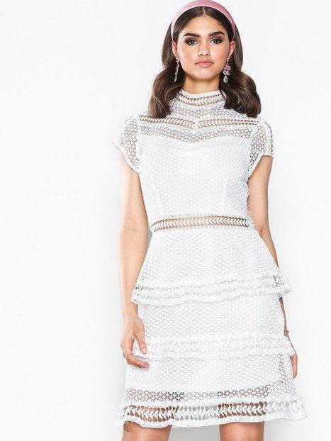 Billede af Y.A.S Yasalberte Capsleeve Lace Dress Br Kropsnære kjoler Offwhite
