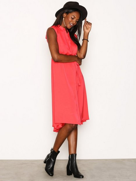 Billede af Object Collectors Item Objadrianne S/L Dress a Sp Loose fit dresses Mørk Rosa