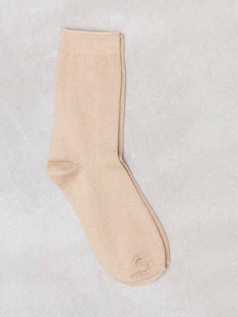 Billede af Vero Moda Vmglitter Socks Color Strømper Guld