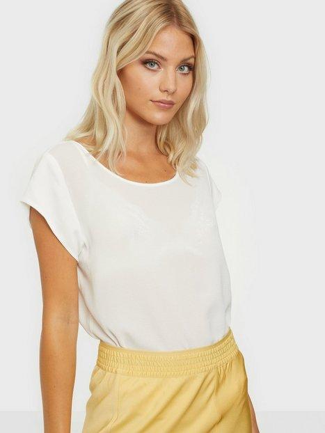 Billede af Only onlVIC S/S Solid Top Noos Wvn Bluser & skjorter Hvid