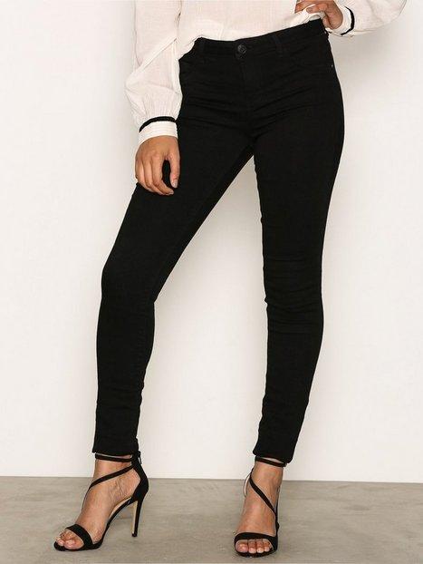 Billede af Jacqueline de Yong Jdyskinny Reg. Ulle Black Jeans Dnm Jeans Sort