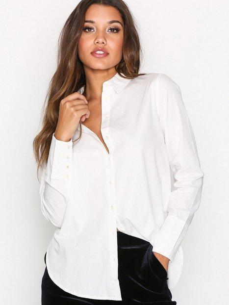 Billede af Vila Vialta L/S Shirt Skjorte Hvid