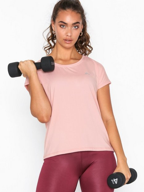 Billede af Only Play onpAUBREE Ss Loose Training Tee - O Singlets & Toppe Silver Pink