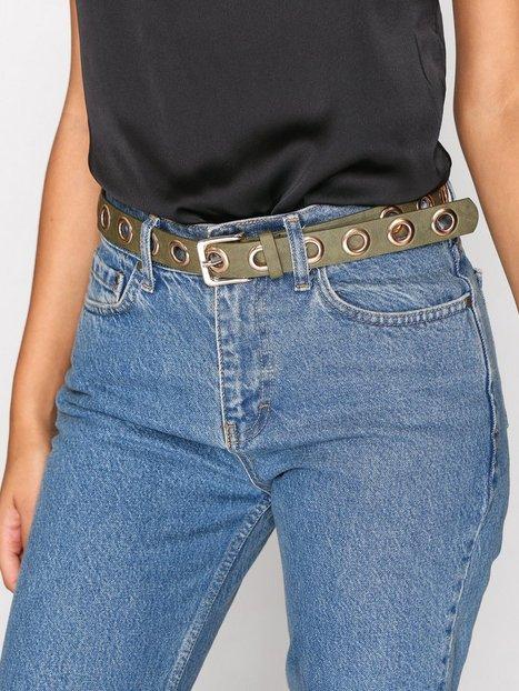 Billede af Pieces Pcnicole Jeans Belt Bælte Grøn