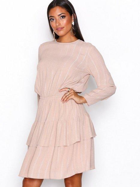 Billede af Y.A.S Yasalena Ls Dress Langærmet kjole Lys Brun