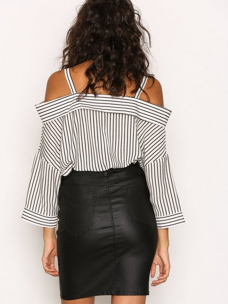 OBJBELLE COATED SKIRT NOOS