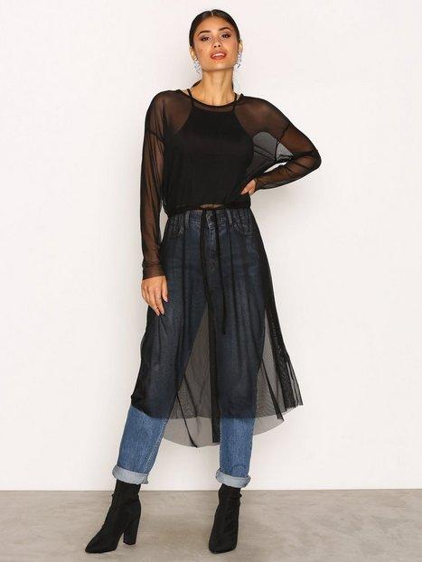 Billede af Jacqueline de Yong Jdyball L/S Dress Jrs Langærmet kjole Sort