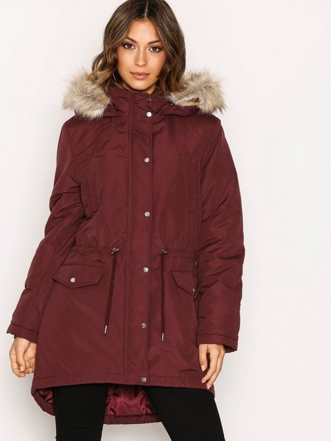 Jdystar Fall Parka Jacket Otw - Jacqueline De Yong - Dark Purple ...