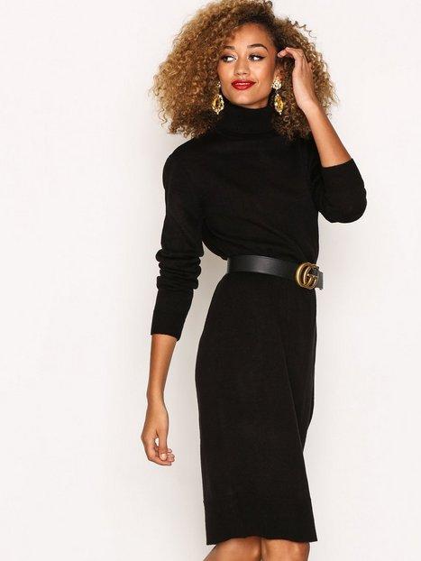 Plain black dresses for women