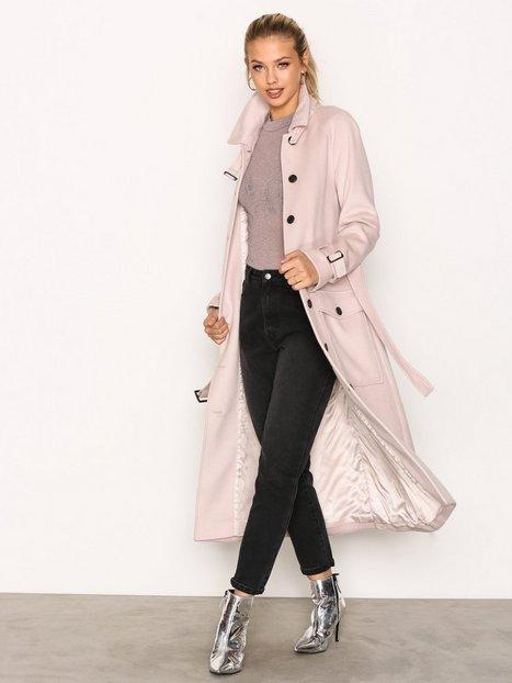 Billede af Selected Femme Sfally Long Wool Coat H Frakke Offwhite