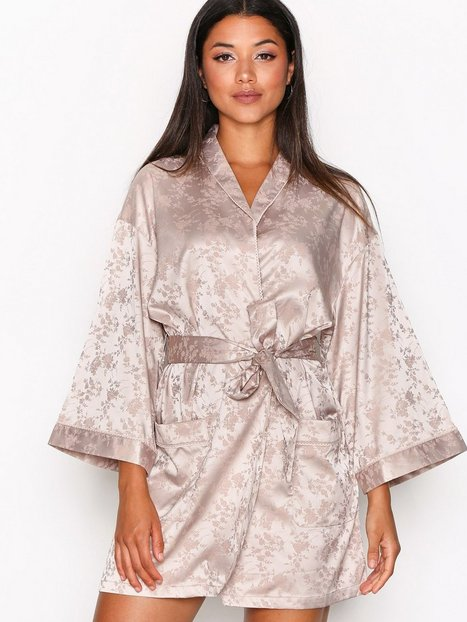 Billede af Y.A.S Yasagata Jacquard Kimono Morgenkåber Lyse lilla