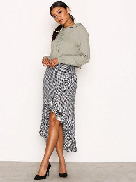 Billede af Object Collectors Item Objabril Mw Skirt a Pa Midi Nederdel Sort