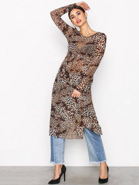 Billede af Vila Viampel L/S Dress /Rx Loose fit dresses Sort