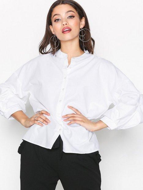 Billede af Pieces Pcdalua 3/4 Shirt Ff Pb Hverdagsbluser Hvid