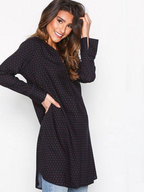 Billede af Jacqueline de Yong Jdyanna L/S Dress Wvn Loose fit dresses Mørkeblå