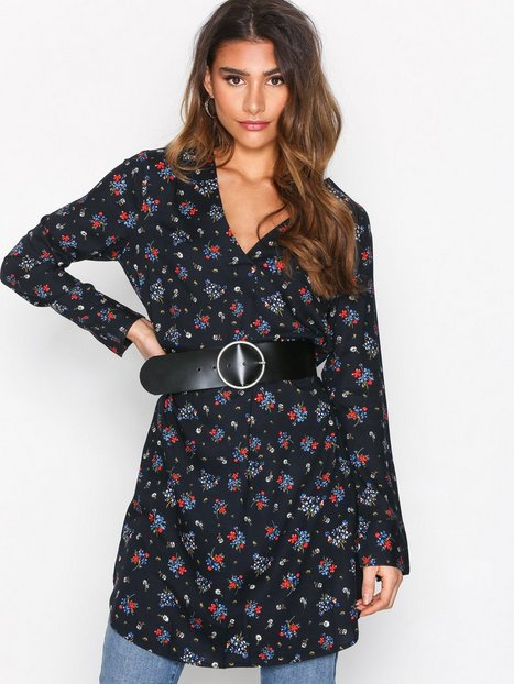 Billede af Jacqueline de Yong Jdyanna L/S Dress Wvn Loose fit dresses Sky Captain