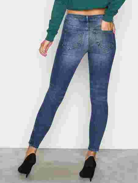 Onlkendell Reg Sk Ank Jeanscre16233 - Only - Blau - Jeans - Kleidung ... 41d379990b