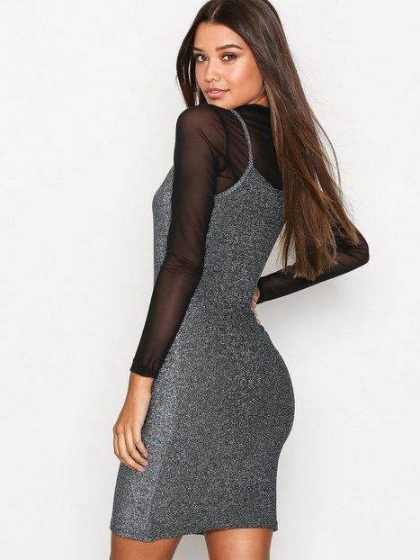 NMFINITY  S/L SHORT DRESS 7