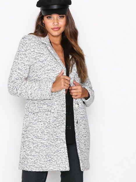 Selected Femme Sffaber Wool Coat H Pitkät takit Valkoinen thumbnail