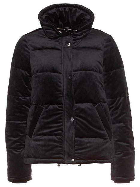 Vmlou Velvet Short Jacket - Vero Moda - Black - Jackets - Clothing ...