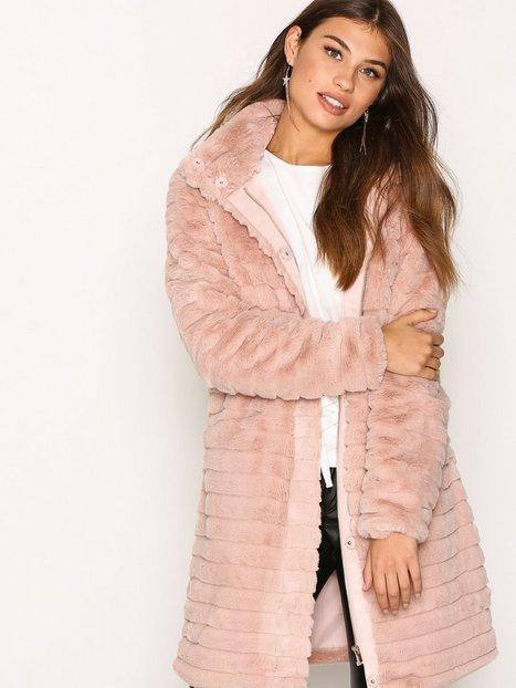 Billede af Vila Vimeria Faux Fur Coat/Gv Faux Fur Lys Rosa