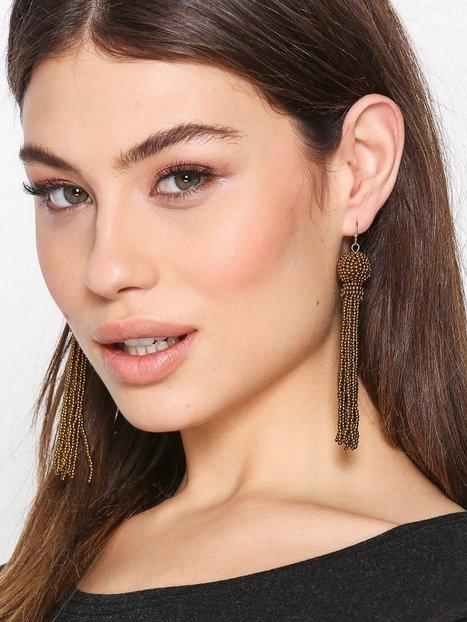 Billede af Only onlABBY Tassel Earring Acc Smykker Guld