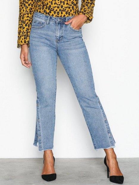 Vila Vimacon Rw 7/8 Jeans Straight Sininen thumbnail