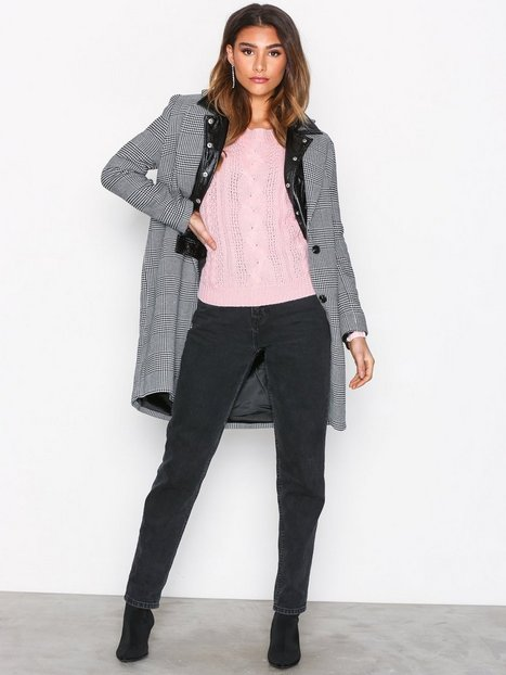 VMWALE CABLE LS O-NECK BLOUSE BF