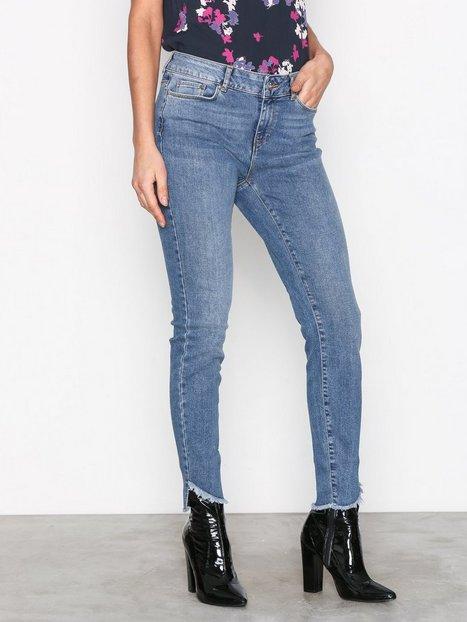 Vero Moda Vmseven Nw s Uneven Ank Jeans BA389 Slim Sininen thumbnail