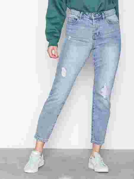 ad23814a Vmivy Lr Tapered Boyfriend Jeans No - Vero Moda - Light Blue - Jeans ...