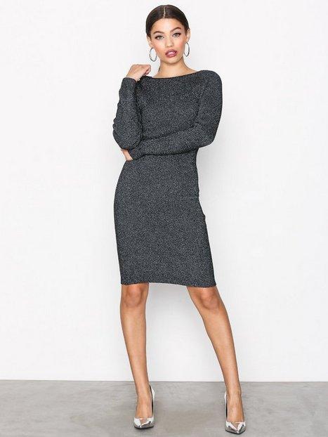Billede af Jacqueline de Yong Jdyaldea L/S Dress Knt Kropsnære kjoler Sort