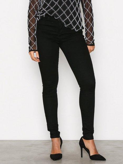 Vero Moda Vmsophia Hw Skinny Jeans Black Noos Skinny Musta thumbnail