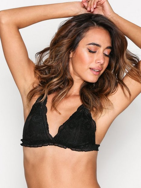 Pieces Pcanne Padded Triangle Bra Bandeau & Soft-Bra Musta thumbnail