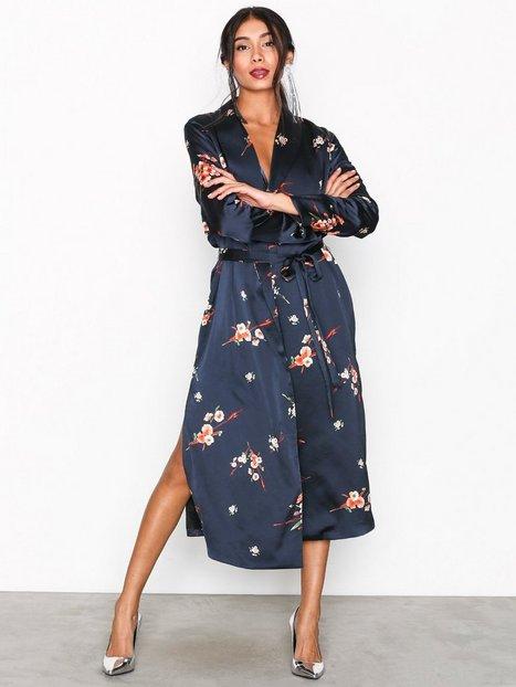Billede af Only onlJAPAAN Ls Long Kimono Wvn Kimono Mørkeblå