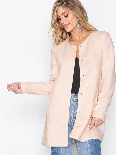 Onlsidney Light Coat Otw Noos - Only - Light Pink - Jackets - Clothing -  Women - Nelly.com