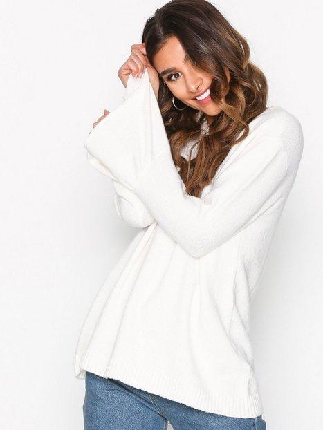 Billede af Jacqueline de Yong Jdyair L/S Sleeve Pullover Knt Strikkede trøjer Hvid