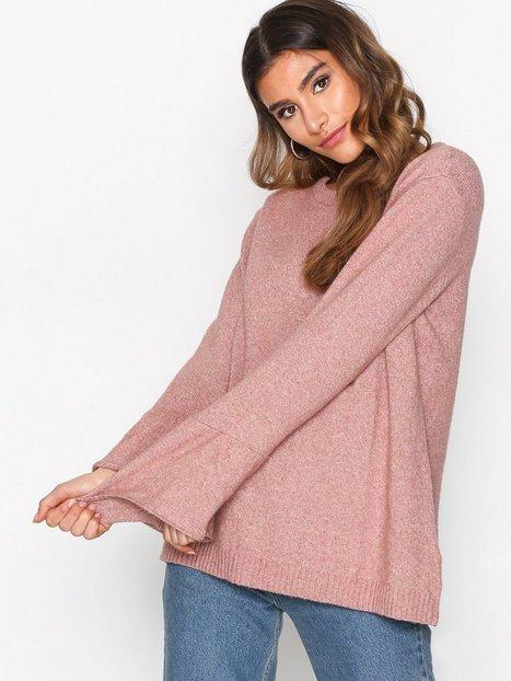 Billede af Jacqueline de Yong Jdyair L/S Sleeve Pullover Knt Strikkede trøjer Lys Brun